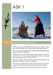 ASK 2012 Nr. 1 - Sagnlandet Lejre