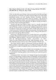 Marx-Engels-Jahrbuch, bd. 1-10. Dietz Verlag, Berlin ... - Kjeld Schmidt