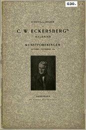 C. W. ECKERSBERG*