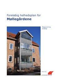 Foreløbig helhedsplan for Møllegårdene - baggrund og strategi