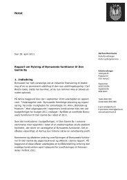 Rapport om flytning af Bymuseets funktioner til Den Gamle By 1 ...