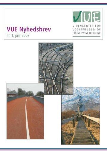 VUE Nyhedsbrev - Videncenter for uddannelses- og ...
