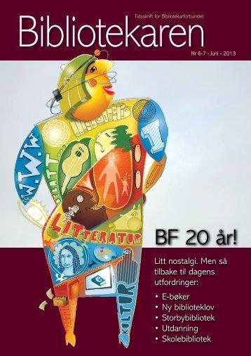 BF 20 år! - Bibliotekarforbundet