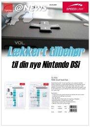 Lækkert tilbehør til din nye Nintendo DSi - Aurora Group Danmark A/S