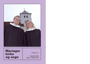 Min engel låner jeg til dig - Mariager Kirke