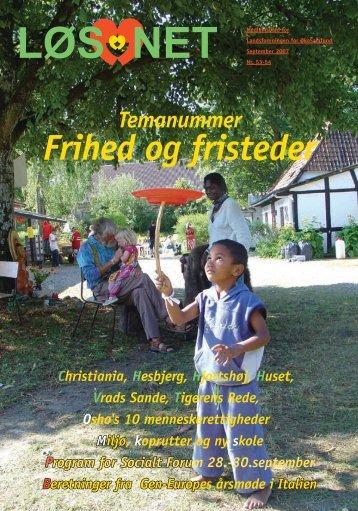 Frihed og fristeder - LøS