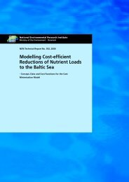 Modelling Cost-Efficient Reductions of Nutrient Loads to the Baltic Sea