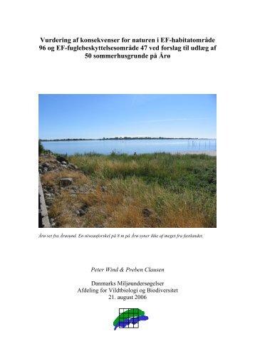 Vurdering af konsekvenser for naturen i EF ... - Naturstyrelsen