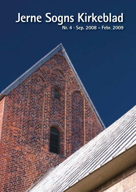 Kirkeblad nr 4 - Jerne kirke og sognehus