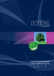 LED katalog - Duralamp