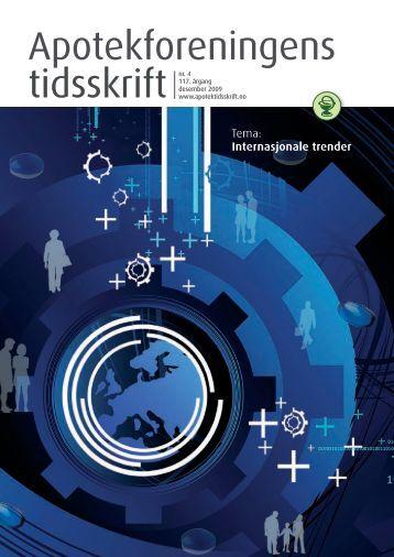 Ny håndbok for medisinutsalgene - Apotekforeningens tidsskrift