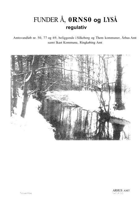 Funder Å, Ørnsø og Lyså - Silkeborg Kommune