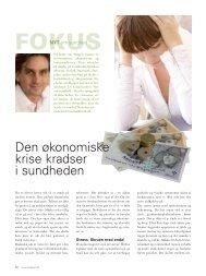 Den økonomiske krise kradser i sundheden - Medital Klinik Danmark