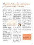 Svenska Foder ökar omsättningen med 700 miljoner kr år 2007 - Page 5