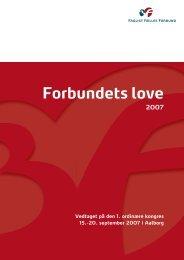 Forbundets love - 3F