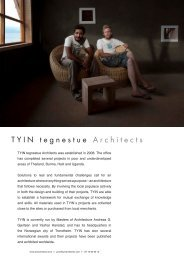 TYIN tegnestue Architects - The European Centre for Architecture Art ...