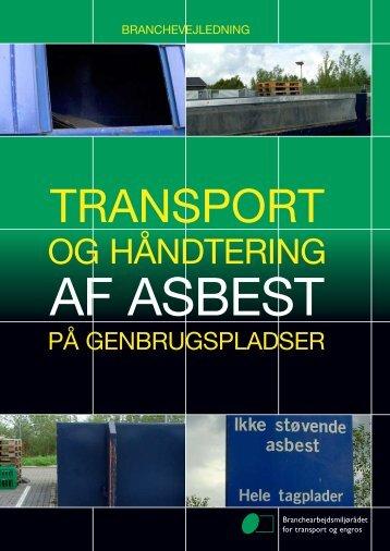 Transport og håndtering af asbest på genbrugspladser