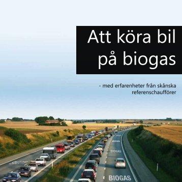 Att köra bil på biogas