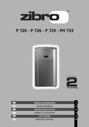 P 720 - P 726 - P 729 - PH 733 - Manual