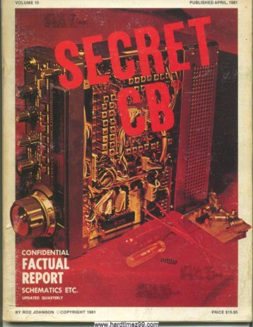 T-10/58 - cb radio secret
