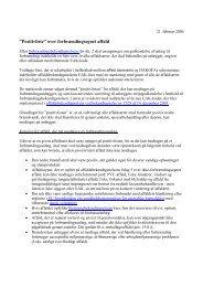 positivliste for forbrændingsanlæg - affald danmark