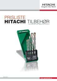 Last ned PDF - Hitachi Power Tools AS