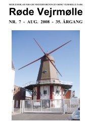 RVP-bladet, august 2008 - Grundejerforeningen Røde Vejrmølle Park