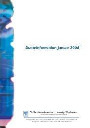 Skatteinformation januar 2008 - Vestjysk Revision