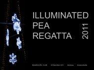 illuminated pea regatta 2011 - Amazing Sailing