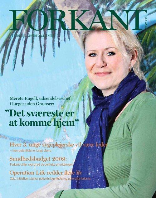Forkant nr.2 2008 - Dansk Sygeplejeråd