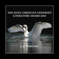 JK Rowling The hans ChRisTian andeRsen liTeRaTuRe awaRd 2010