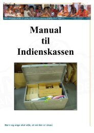 Download manual til Indienskassen - KFUM og KFUK i Danmark