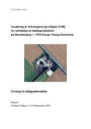 Tillæg 24, VVM - Naturstyrelsen