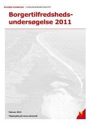 Læs Borgertilfredshedsundersøgelsen 2011 - Solrød Kommune