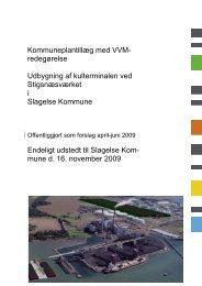 Kommuneplantillæg med VVM redegørelse
