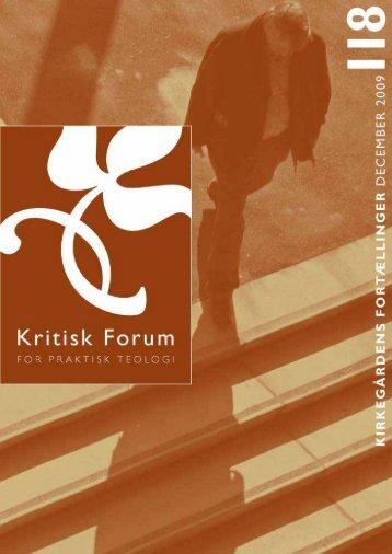 Kritisk Forum 118 - Anis