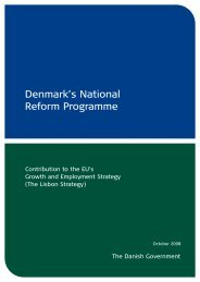 Denmark's National Reform Programme