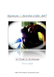 Hypnose - hvordan virker det? version 1.1 - Mentalius.dk