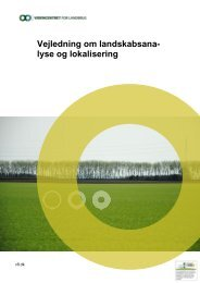 Landskabsanalyse og lokalisering - Videncentret for Landbrug