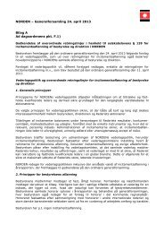 NORDEN – Generalforsamling 24. april 2013 Bilag A ... - DS Norden