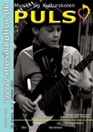 Puls nr. 1 sæson 11/12 - Næstved Musik- og Kulturskole