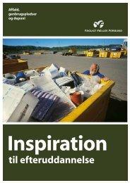Efteruddannelse affald genbrug 2011 - 3F Shop