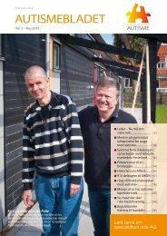 Medlemsblad nr. 5, 2012 - Landsforeningen Autisme