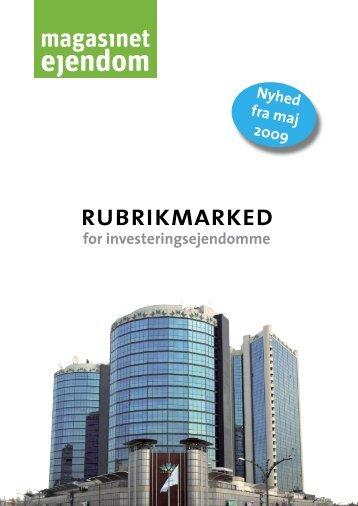 RUBRIKMARKED - Estate Media