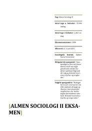 [ALMEN SOCIOLOGI II EKSA-‐ MEN] - sociologisk-notesblok