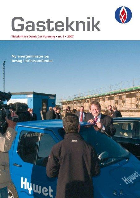 Gasteknik nr. 5, november 2007 [PDF] - Dansk Gas Forening