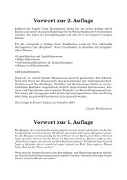 Vorwort zur 2. Auflage Vorwort zur 1. Auflage