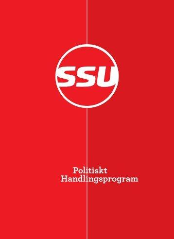 SSU:s politiska handlingsprogram, 2009