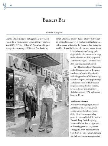 Bussers Bar – Claudia Shestophal – 2 - Folkemuseet