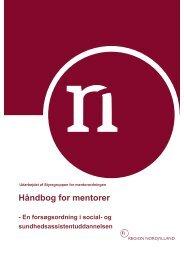 Håndbog for mentorer - Region Nordjylland